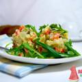 Вегетарианский салат оливье - без яиц