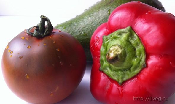 Необычный овощной салат в конвертиках (с такланом) - рецепты