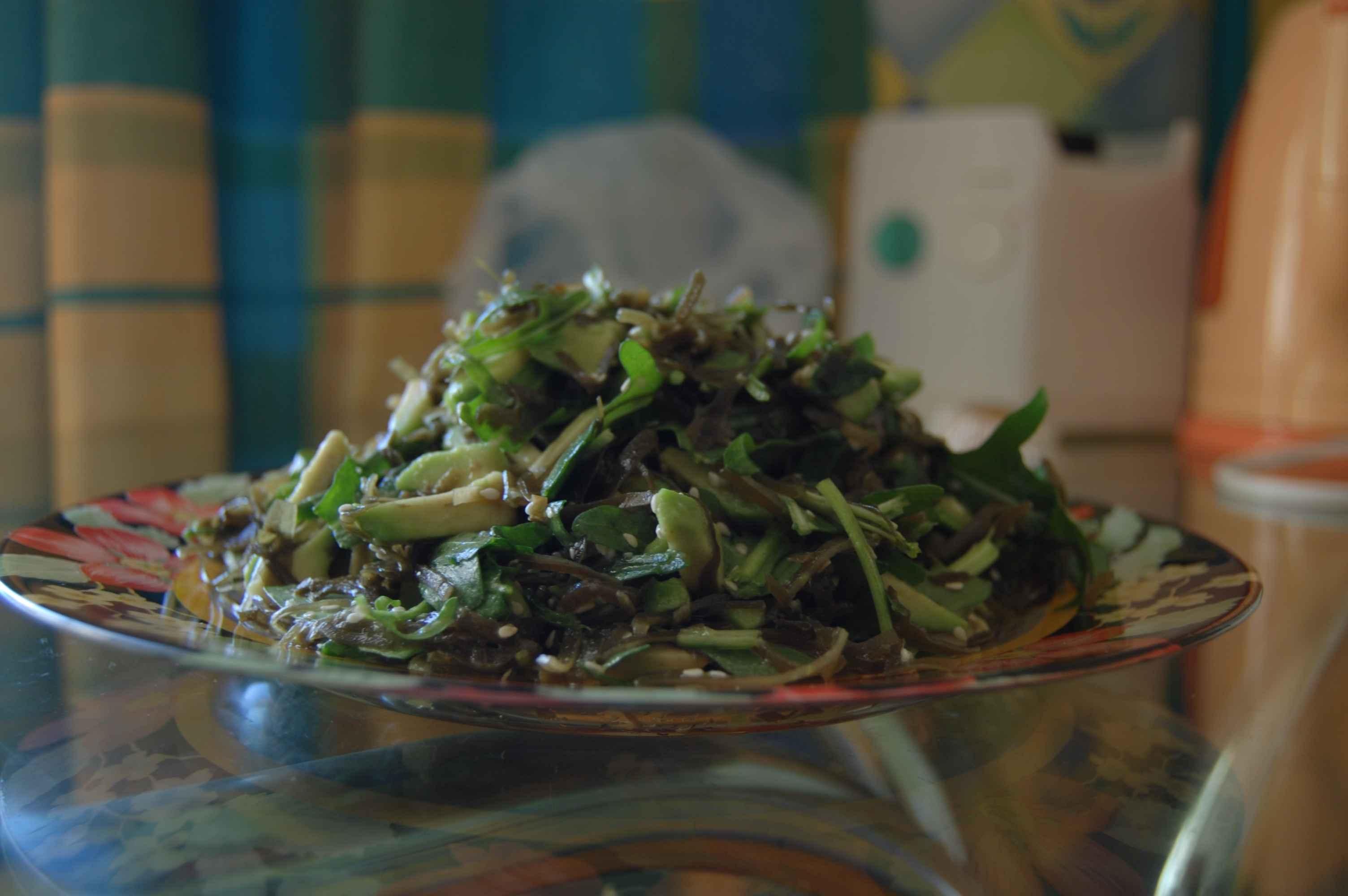 Фото салат авокадо (рецепт)