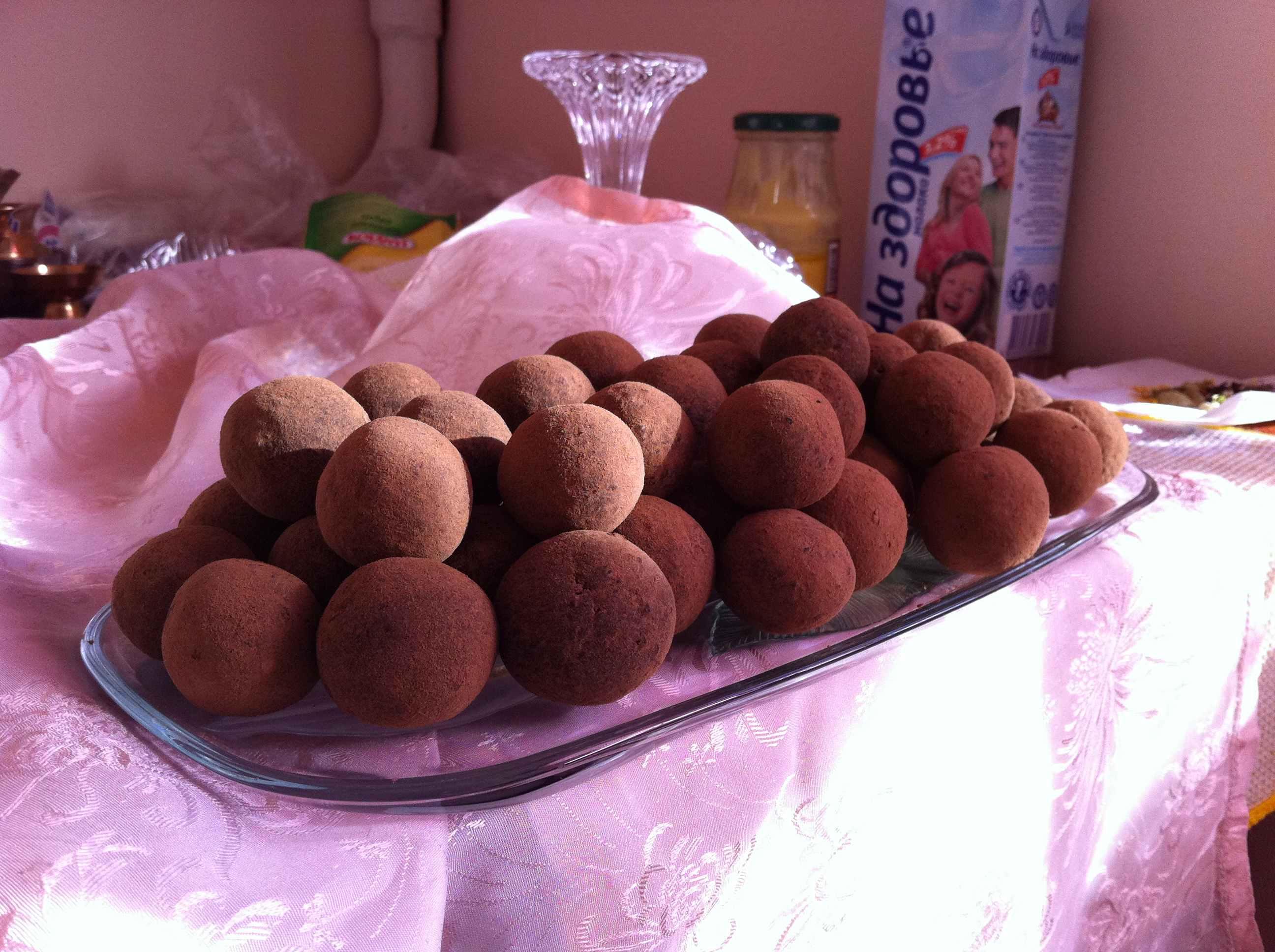 Фото трюфеля шоколадные (из кэроба) - рецепт