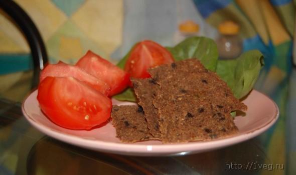 Фото хлебцы сыроедные (рецепт)
