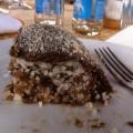 Фото бананово-марципанового торта - рецепт