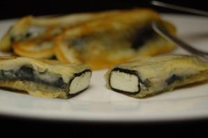 Адыгейский сыр в нори жареный в кляре