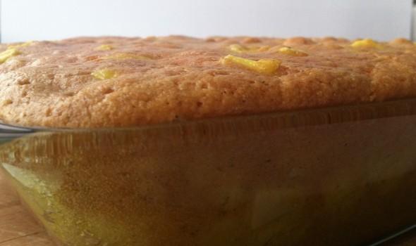 Манник классический с яблоками (пирог без яиц) - рецепт