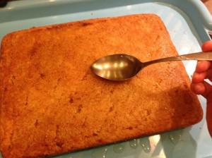 пропитка лимонного пирога