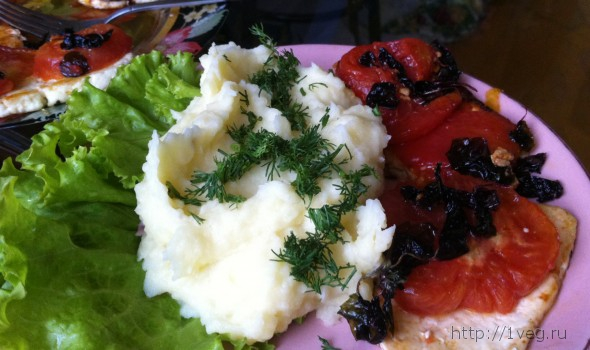 Кремовое картофельное пюре - рецепт