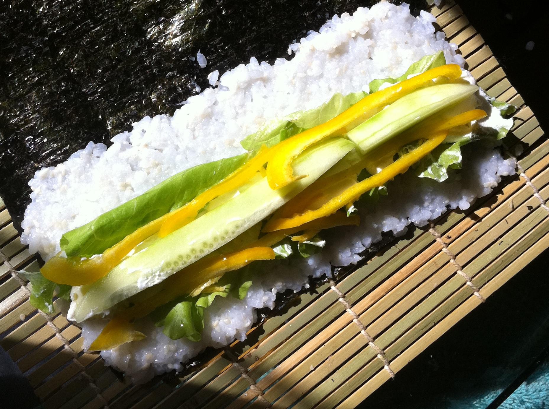 Начинки суши в домашних условиях рецепт