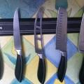 Ножи на магните - экономим кухонное пространство