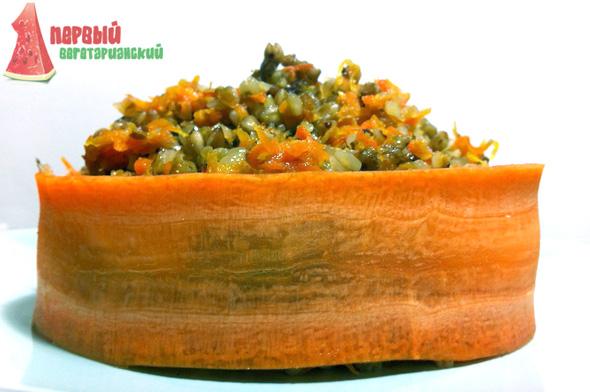 Вкусная гречка с морковной зажаркой