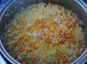 Зажарка из морковки
