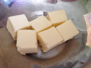 Сливочное масло кусками