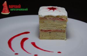 классический торт Наполеон