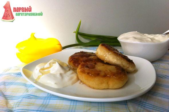 Рецепт сырников без манки