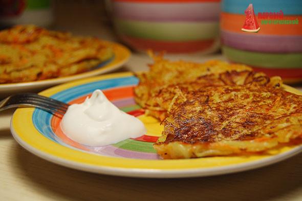 рецепт драников из картошки без муки с фото пошагово