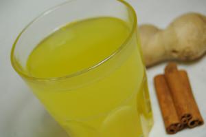 Имбирный чай с лимоном медом