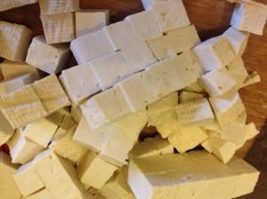 Тофу для мисо супа