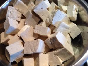 Сыр тофу кубиками