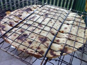 Пицца на мангале