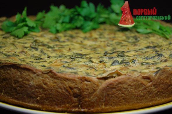 Киш - открытый пирог
