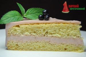 Торт с желейной прослойкой