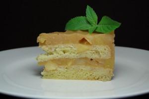 торт с желе из яблок