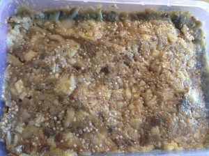 заготовка для салата из баклажан