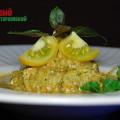 Сыроедческие спагетти из кабачка