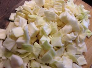 капуста для чечевицы