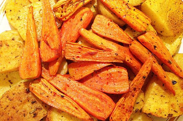 Печенная картошка в духовке