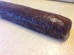 формируем колбаску